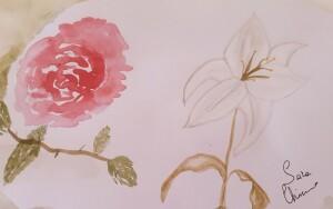 Rosa e giglio